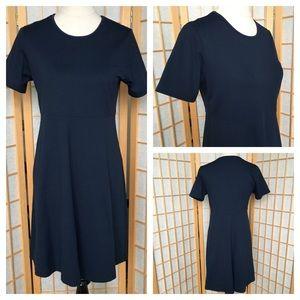 LL Bean Activewear Travelers Blue Dress SZ PM